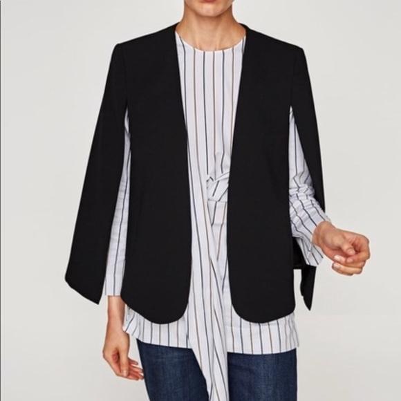 0ec969845 Zara Cape Blazer Jacket Size XS